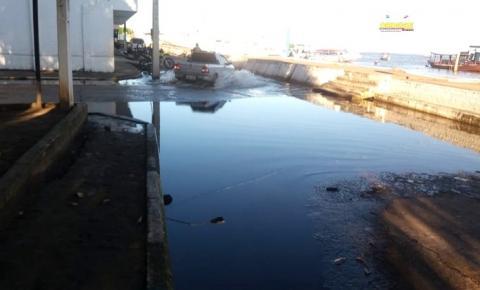 Volume de água do rio Amazonas está parado nos 7m 70 cm.