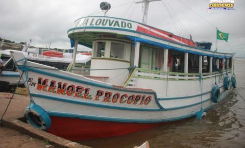 SEMMA apreende embarcação com pescado ilegal em Óbidos.