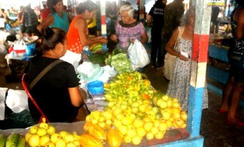 Produtos da agricultura familiar são destaques na Feira do Produtor Rural em Óbidos Oeste do Pará.