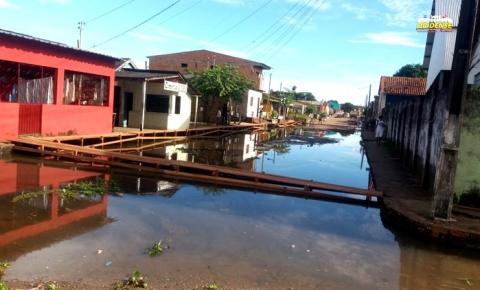 Nível do rio Amazonas deixa de subir e fica na marca de 7m e 96 cm