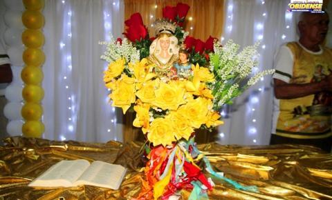 Famílias obidenses prestigiaram e participaram do Jantar de despedida da Senhora Sant`Ana na última sexta-feira (24) em Manaus