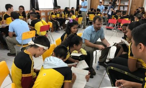 Jovens são incentivados para o empreendedorismo em Juruti