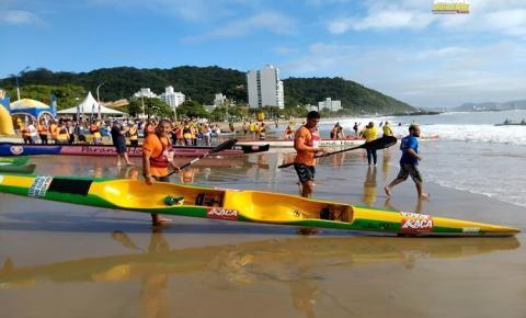 Dupla de Santarém lidera ranking no Brasileiro de canoagem oceânica