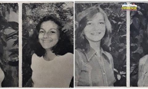 A festa das Debutantes em Óbidos em 1979.  Quando a Assembléia Recreativa Pauxis estava em seu apogeu