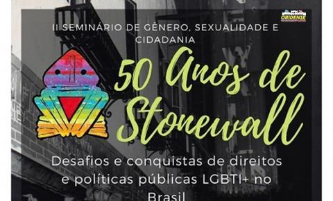 Seminário vai debater gênero, sexualidade e cidadania