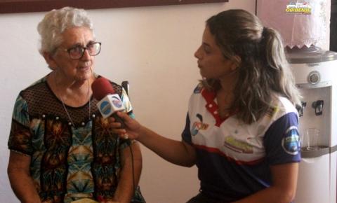 Professora Idaliana falou sobre sua convivência com Dom Floriano Loewenau