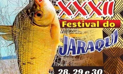 Festival do Jaraqui em Óbidos vai acontecer nos dias 28, 29 e 30 de junho na Praça José Veríssimo