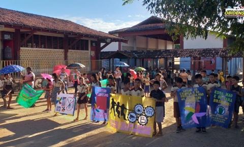 Escolas realizam ação de conscientização no dia mundial de combate ao trabalho infantil