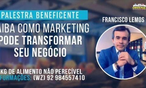 Em Manaus, Palestra gratuita de marketing para empreendedores