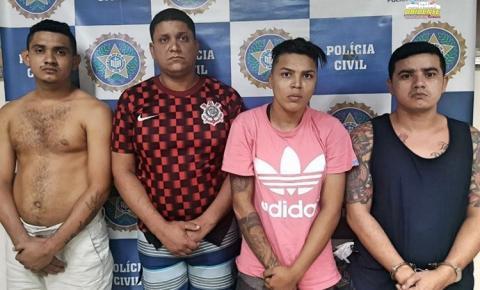 Acusados de participação em mortes de policiais no Pará são presos no Rio de Janeiro