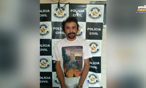 Polícia prende foragido da Justiça em Óbidos, quando fazia buscas por suspeito de homicídio