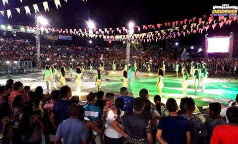 A segunda noite do 28° Festival da Castanha foi um espetáculo em Oriximiná oeste do Pará