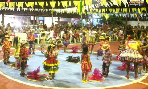 Escola Madalena Printes em Óbidos, realiza com sucesso o Arraiá da Madá