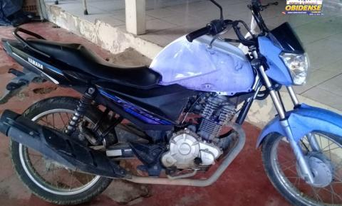 Duas motos foram recuperada pela polícia de Oriximiná no sábado e domingo