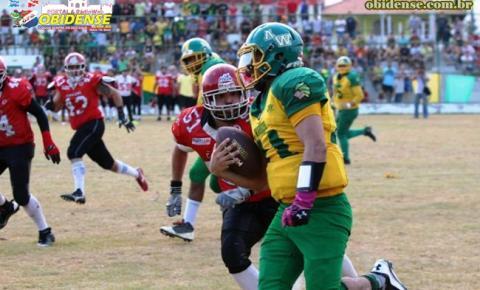 Filhos de Obidenses são campeões na liga do Manaus Bowl