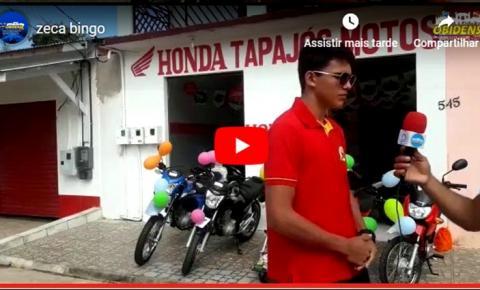 Na cidade de Prainha, evento oferece 5 motos zero km em premio