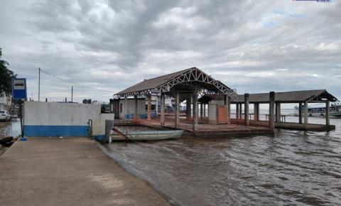 Em fase terminal: Presidente da CPH emite nota sobre a obra do Terminal Hidroviário de Óbidos