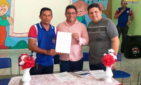 Autorização para o funcionamento da Escola Dom Floriano foi entregue na tarde desta quinta-feira (27), em Óbidos