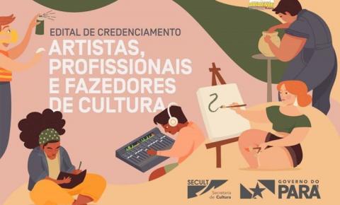 Secult lança edital de credenciamento de artistas e profissionais da área cultural