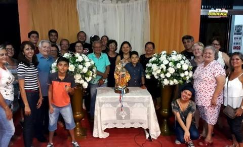 A padroeira dos obidenses já está em Santarém, iniciou sua peregrina na segunda-feira 1º de julho