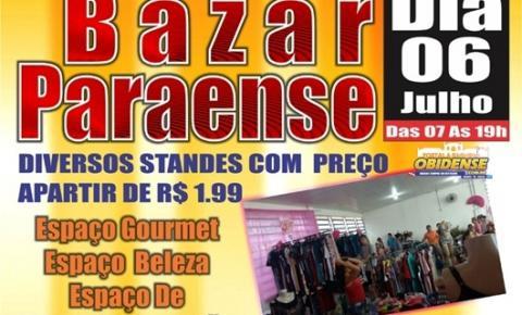 Vai ter Bazar Paraense neste sábado dia 06