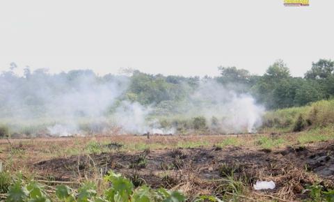 Moradores de Óbidos reclamam de fumaça gerada por queimadas