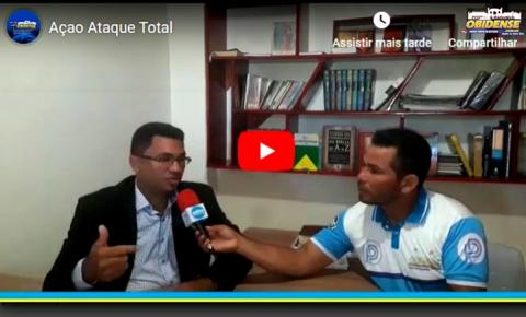 Ação conjunta do projeto Amazônia Canaã e Ataque Total levarão atendimento à população do município de Prainha
