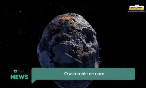 O asteroide de ouro