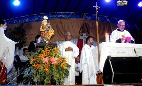 O regresso da Padroeira, Sant`Ana foi recebida com hinos, fogos de artifícios e festa