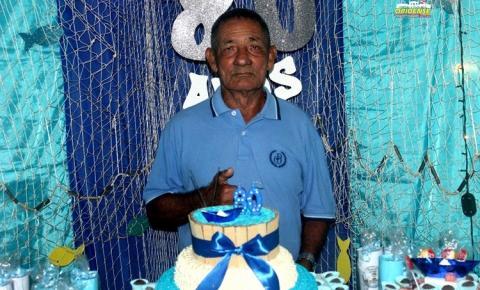 Vicente da Silva Filho completa 80 anos ao lado se sua família