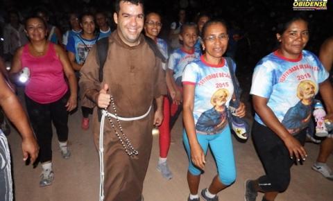 Saindo da comunidade do Cipoal. V caminhada de Fé com Sant'Ana acontecerá nesta sexta-feira (12)