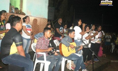 Centenas de obidenses participam da missa na comunidade do Cipoal em Óbidos – PA