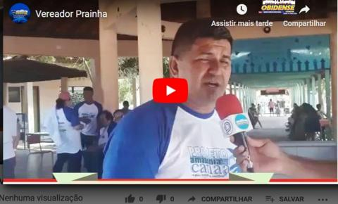 PRAINHA - Acompanhe a entrevista que vereador Josué Pereira concedeu ao Portal, o mesmo fala dos atendimentos que serão feitos pelos projetos Ataque Total e Amazônia Canaã na margem direita do município de Prainha
