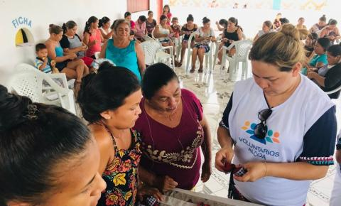 Comunidade Maravilha em Juruti recebe ação voluntária que estimula empreendedorismo entre mulheres