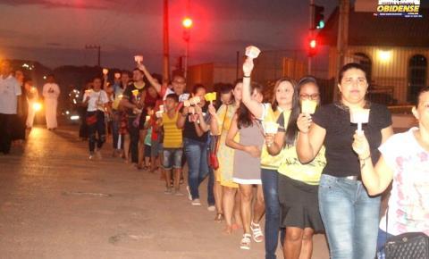 3° noite da Festividade de Sant'Ana, reuniu centenas de Fiéis e devotos em Óbidos