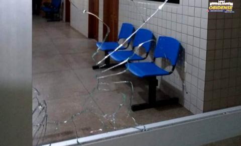 Delegacia de Polícia em Oriximiná, sofre atendo. Segundo o delegado dois homens efetuaram 8 disparo contra o prédio