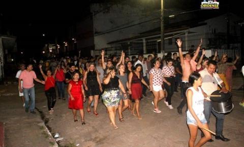 Alvorada de Sant´Ana acordou os obidenses com muita música e marchinha de carnaval em Óbidos