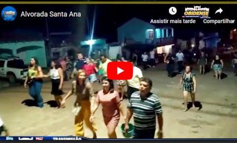 Vídeo - Obidenses que participaram da alvorada em Óbidos, estavam muito animados, no dia da festa de sua padroeira