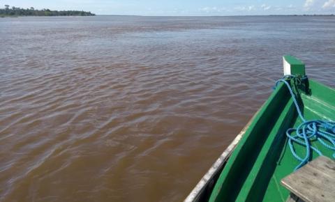 Vazante do rio Amazonas