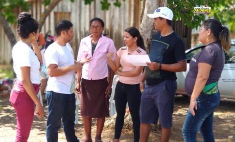 Após aprovar projeto, associação em Oriximiná inicia construção de horta comunitária.