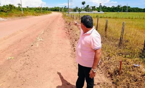 Asfalto da PA-437 chegará até subestação da Celpa, em Óbidos