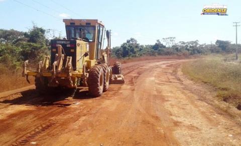 Setran executa obras em quatro rodovias da região do Baixo Amazonas