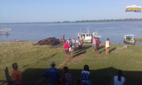 Canoa alaga com 9 pessoas no Rio Amazonas, tem um desaparecido I Portal Obidense