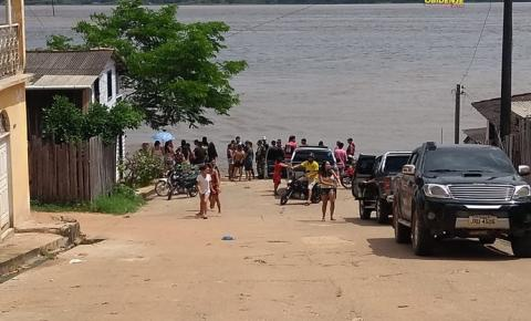 Homem desaparece no rio Amazonas em frente à cidade de Óbidos-PA I Portal Obidense