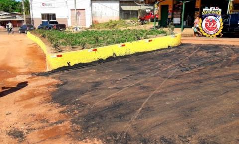 Projeto Nelson Sousa - Prefeito explica o serviço que está sendo realizado na principal via pública do município | Portal Obidense