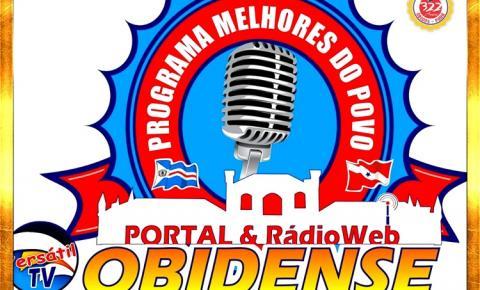 No domingo (01) tem programa As Melhores do Povo | Portal Obidense