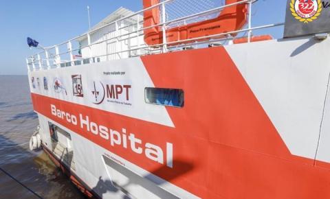 Barco Hospital Papa Francisco atende população de Santarém nesta quarta e quinta-feira | Portal Obidense