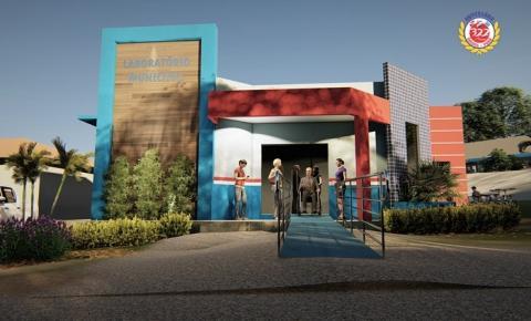 Construção do Laboratório municipal | Portal Obidense