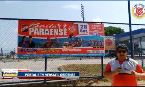 Saiba e conheça a estrutura do local do Baile Paraense dia 28 de setembro | Portal Obidense