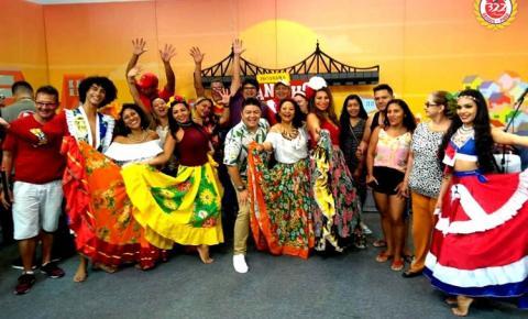 Tu viu maninho? aniversário de Óbidos foi tema de programa de TV em Manaus | Portal Obidense